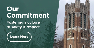 Our Commitment: Fostering a culture of safety & respect. Learn more.